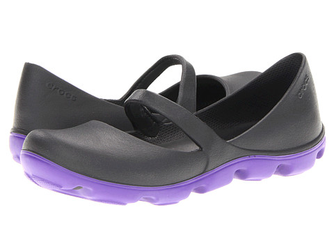 Balerini Crocs - Duet Sport Mary Jane - Black/Ultra Violet