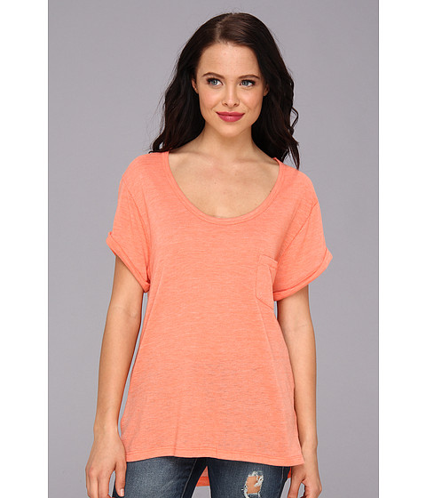Bluze Alternative Apparel - Eco-Gauze Rubik\s Top - Eco True Persimmon