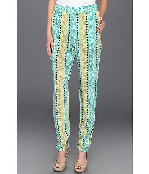 Pantaloni Nanette Lepore - Pebble Pant - Mint Multi