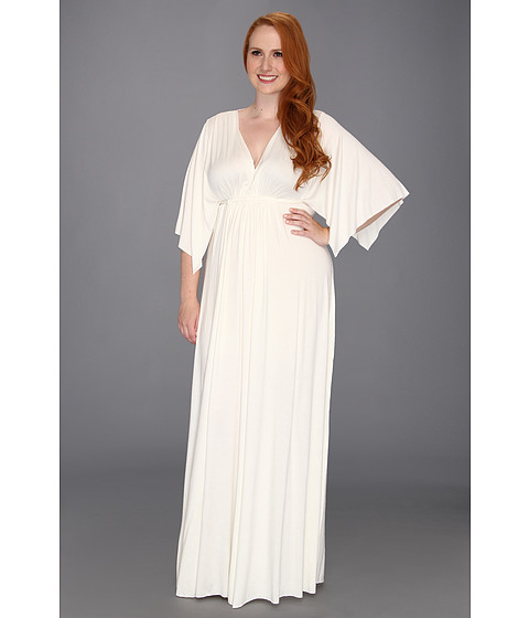 Rochii Rachel Pally - Plus Size Long Caftan - White