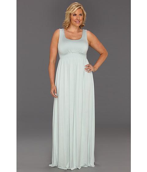 Rochii Rachel Pally - Plus Size Long Shirred Tank Dress - Foam