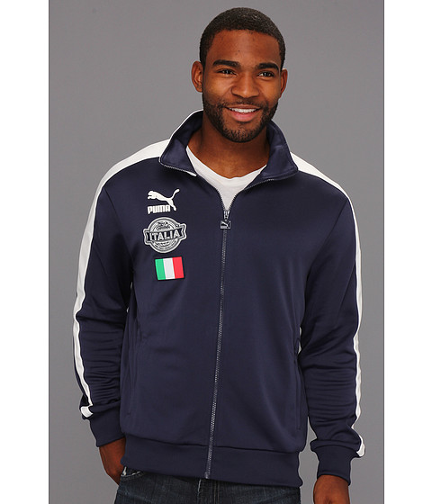 Jachete PUMA - Football Archives T7 Track Jacket - Navy/Figc Italia