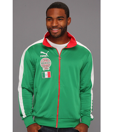 Jachete PUMA - Football Archives T7 Track Jacket - Amazon/Star White/Mexico