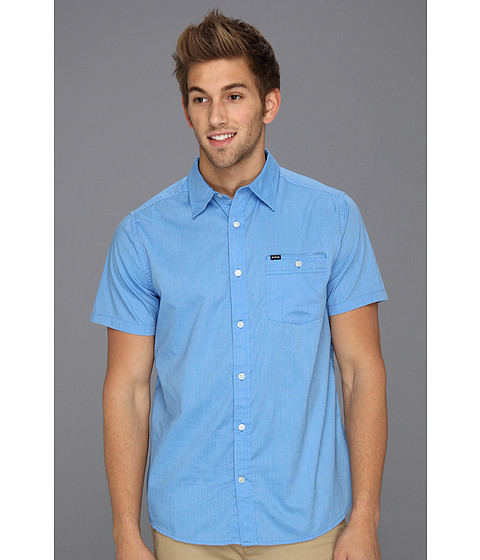 Tricouri Hurley - Rise Solid S/S Shirt - Bay Blue