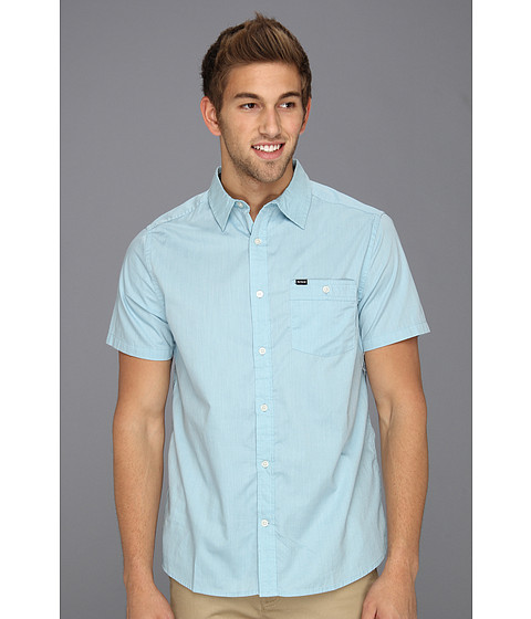 Tricouri Hurley - Rise Solid S/S Shirt - Light Blue