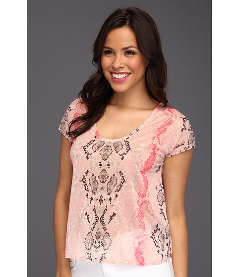 Bluze Kenneth Cole - Mika Top - Flamingo Pink Combo
