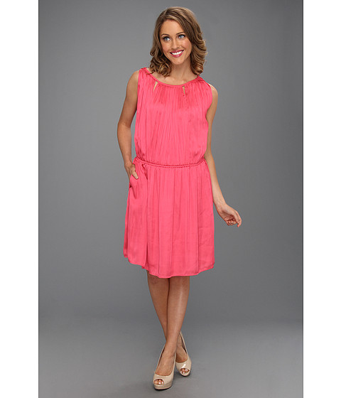 Rochii Kenneth Cole - Cathleen Gathered Dress - Dragon Fruit