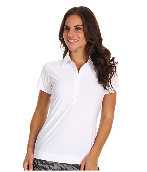 Tricouri Nike - Emboss Dot Polo - White