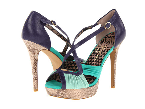 Pantofi Jessica Simpson - Brouge - Pastel Green Jesse Leather