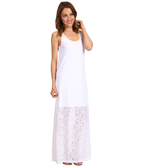 Rochii Tommy Bahama - Lace Ahoy Lace Long Tank Maxi Dress - White