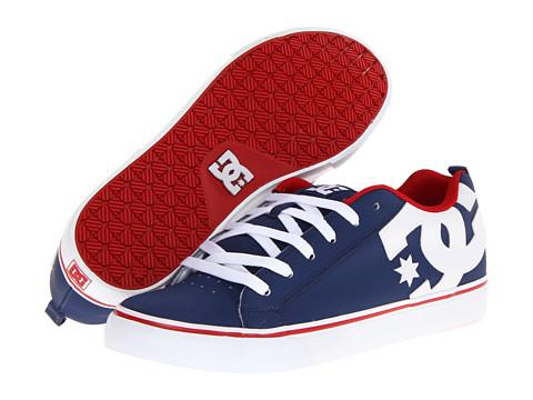 Adidasi DC - Court Vulc - Navy/Red
