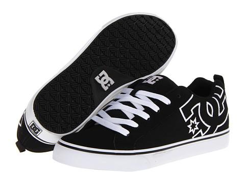 Adidasi DC - Court Vulc - Black/Black/White
