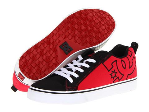Adidasi DC - Court Vulc TX - Black/Athletic Red/White