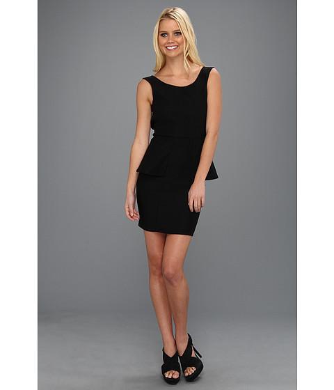 Rochii Type Z - Eliza Peplum Dress - Black