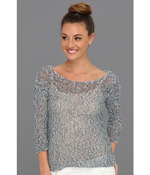 Bluze Lucky Brand - Marcie Multicolor Sweater - Blue Multi