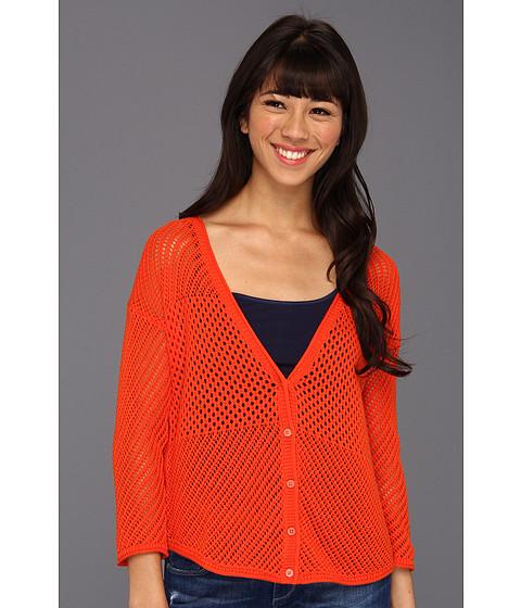 Bluze Lucky Brand - Romona Cardigan - Mandarin Orange