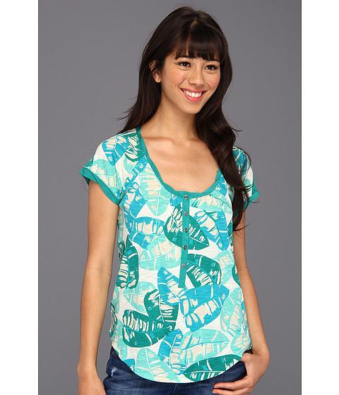Bluze Lucky Brand - Kaylee Palm Top - Green Multi