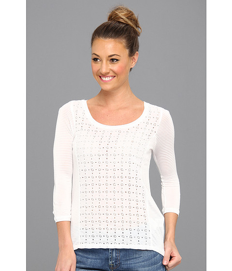 Bluze Lucky Brand - Ellis Cut Out Top - Lucky White