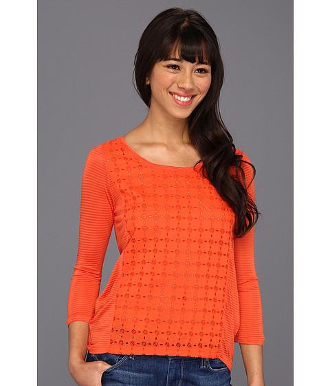 Bluze Lucky Brand - Ellis Cut Out Top - Madarin Orange