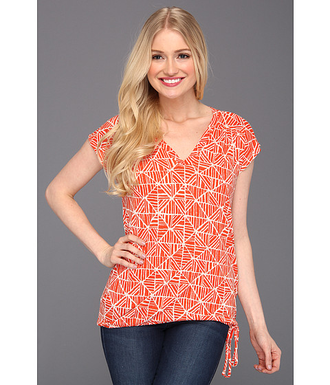 Bluze Lucky Brand - Marny Mosaic Tile Top - Orange Multi