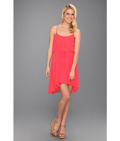 Rochii Brigitte Bailey - Carrington Chiffon Hi-Low Dress - Hot Pink