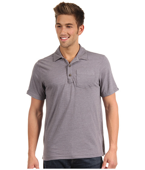 Tricouri The North Face - S/S Ellingwood Polo - Zinc Grey