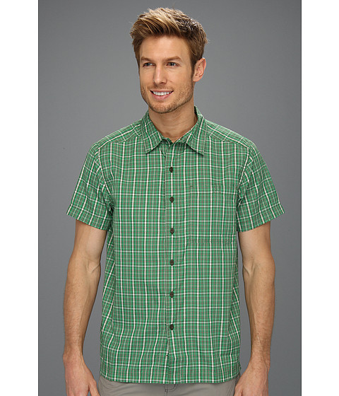 Camasi The North Face - S/S Hypress Woven - Arden Green Plaid