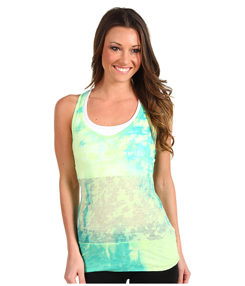 Bluze The North Face - Be Calm Tank - Rave Green/Ion Blue