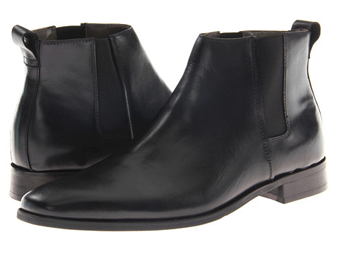 Ghete Calvin Klein - Galen Boot - Black Dress Calf