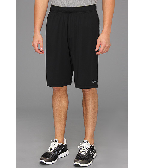 Pantaloni Nike - Nike Fly Burst Stripe Short - Black/Cool Grey/Cool Grey