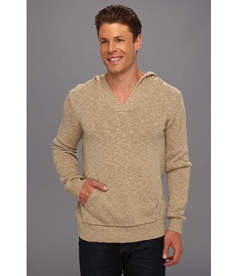 Bluze Lucky Brand - Slub Hooded Pullover Sweater - Twill
