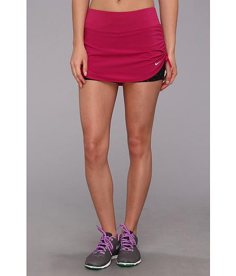 Fuste Nike - Nike Rival Stretch Woven Skort - Bright Magenta/Black/Reflective Silver