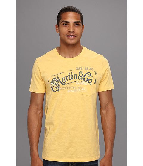 Tricouri Lucky Brand - Martin Stencils T-Shirt - Cornsilk