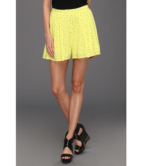 Pantaloni BCBGeneration - Side Pleated Short - Ultra Lime Combo