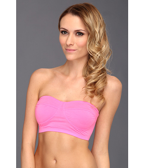 Lenjerie Splendid - Color Splash Long Line Bandeau 3117SW - Pink