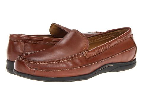 Pantofi Dockers - Amalfi - Tan Burnished Full Grain
