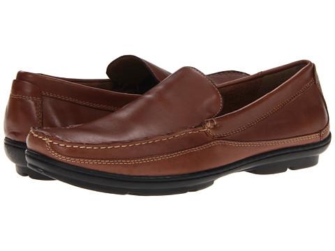 Pantofi Dockers - Clifford - Dark Tan Soft Burnished Full Grain