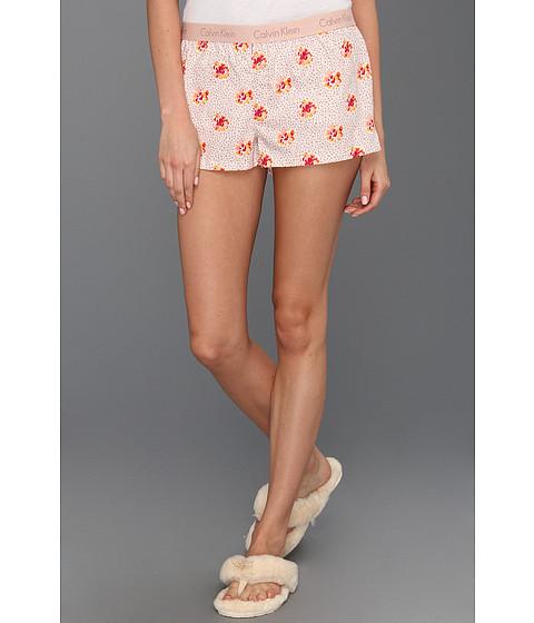 Rochii Calvin Klein - Wovens Boxer Sleep Short w/ Repeat Logo S5123 - Cabachon Floral Print
