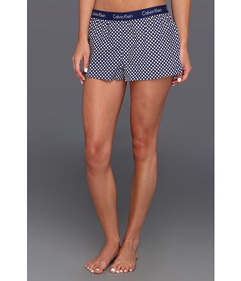 Rochii Calvin Klein - Wovens Boxer Sleep Short w/ Repeat Logo S5123 - Totem Geo Print