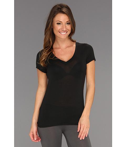 Tricouri Calvin Klein - Layering Cap Sleeve Tee D3472 - Black