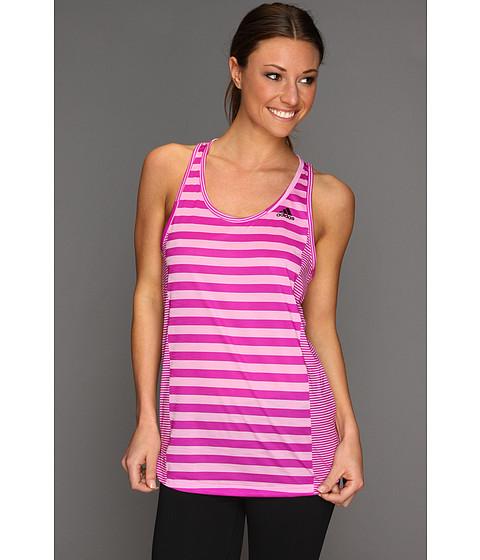 Tricouri adidas - Boyfriend Stripe Tank - Bliss Orchid/Vivid Pink