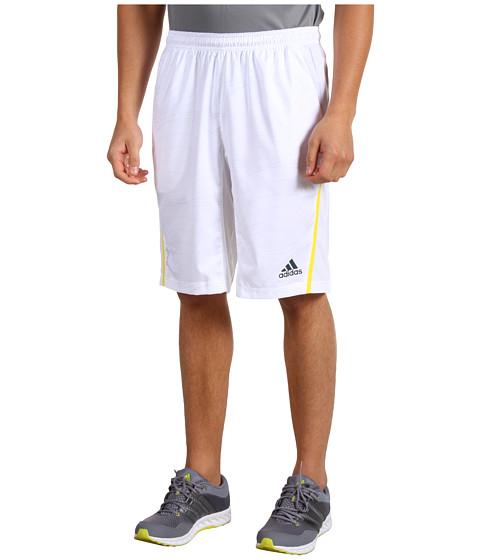 Pantaloni adidas - adizeroâ⢠Bermuda - White/Tech Grey/Vivid Yellow
