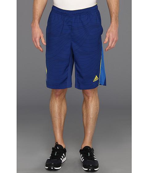 Pantaloni adidas - adizeroâ⢠Bermuda - Dark Blue/Vivid Yellow/Prime Blue