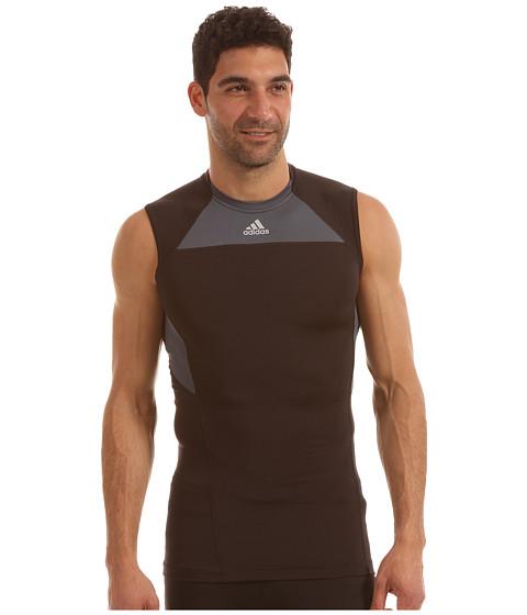 Tricouri adidas - techfit⢠Compression Sleeveless Tee - Black/Tech Grey