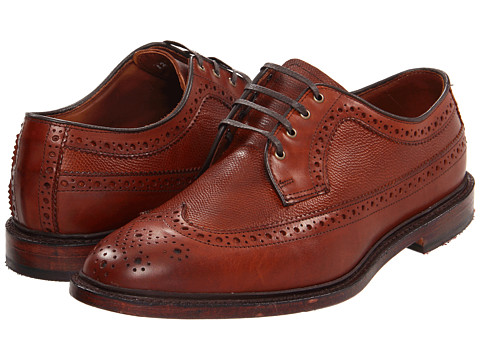 Pantofi Allen-Edmonds - Regent - Chili Burnished Calf/Chili Grain Leather