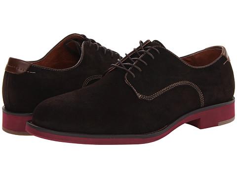 Pantofi Johnston & Murphy - Ellington Saddle - Dark Brown Suede