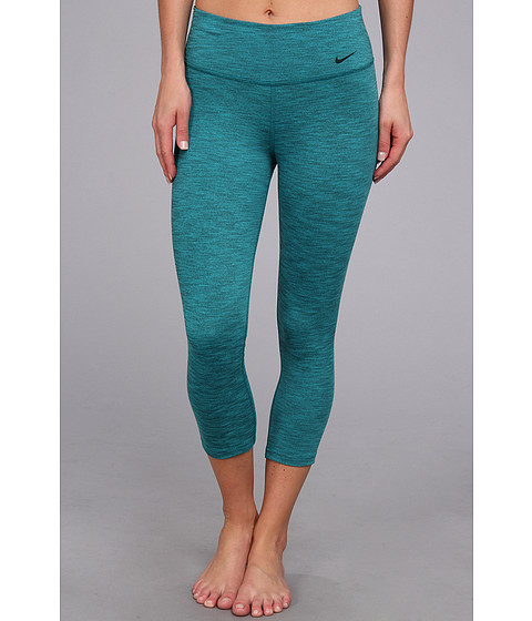 Pantaloni Nike - Legend 2.0 Tight Poly Capri - Turbo Green/Black/Black