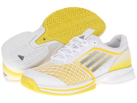 Adidasi adidas - adizeroâ⢠CC Tempaia II - Running White/Tech Grey/Vivid Yellow