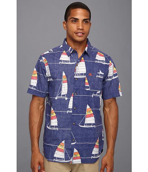 Tricouri Hurley - Hobie Turk\s Woven Shirt - Navy