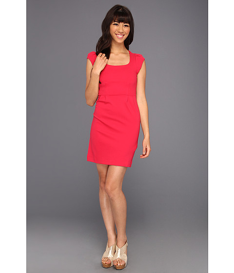 Rochii French Connection - Georgia Jersey Dress - Hot Pink